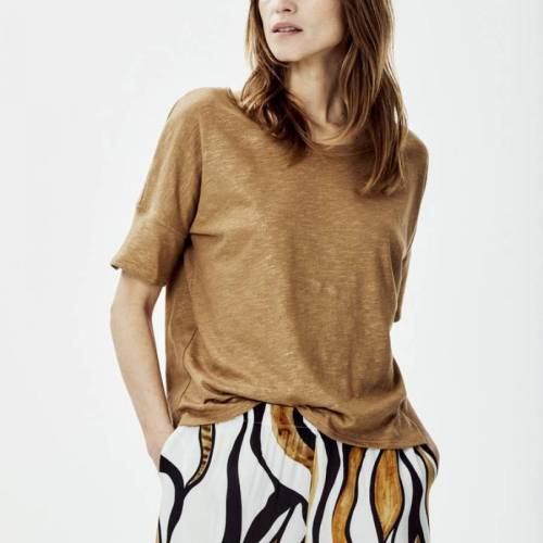 Janneke Tee Choco knitted