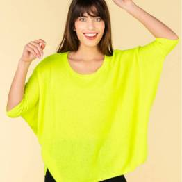 Olympe jaune fluo Absolut Cashmere