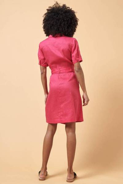 Barleta robe raspberry La Fee Maraboutee