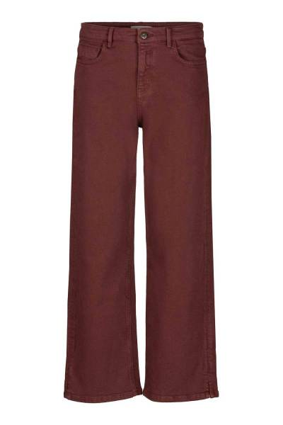 Mojo twill pant clean finish red By-Bar Amsterdam
