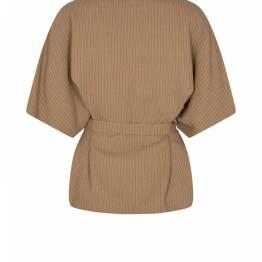 Rikaas kip blouse woodsmoke Mos Mosh