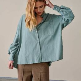 Gorky12 shirts aqua Bellerose