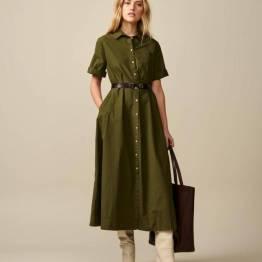 Valie dresses olive Bellerose