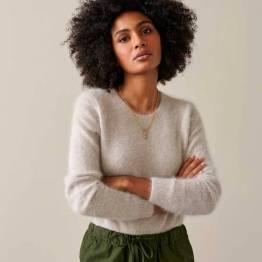 Datti12 knitwear light grey Bellerose