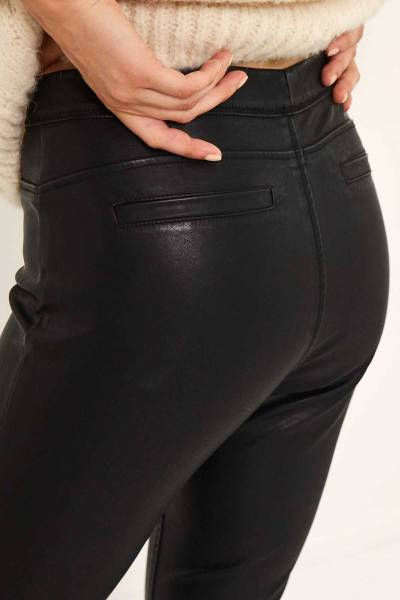 Amber pants black Knit-ted