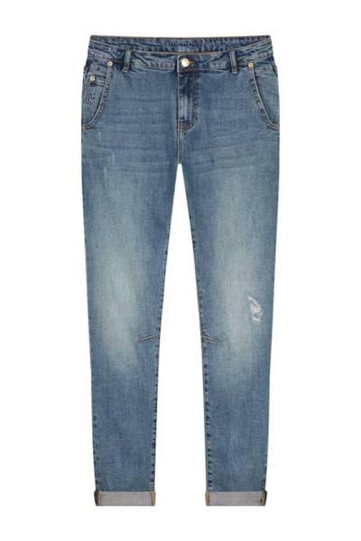 Tapered jeans twill stretch denim Summum