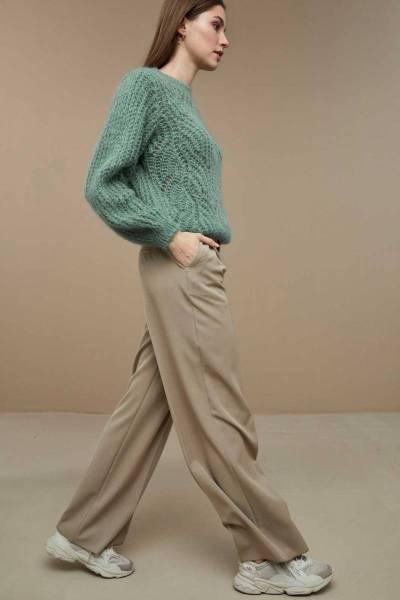 Julie pullover sage By-Bar