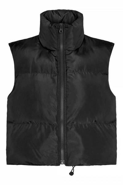 Mountain nylon vest black Co'Couture