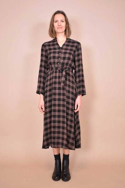 Ecrin robe marron La Fee Maraboutee