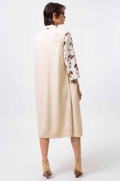 Ancona knitwear sand Nathalie Vleeschouwer
