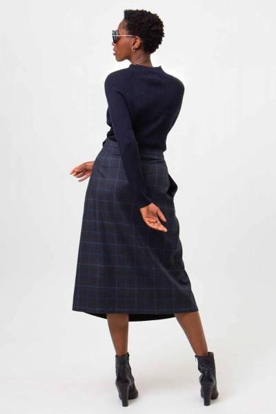 Madrid merino wool blue Nathalie Vleeschouwer
