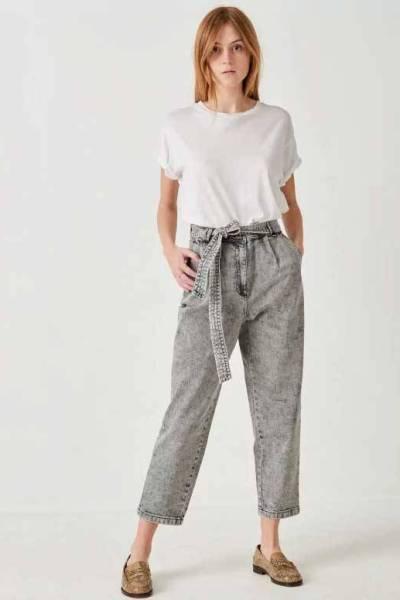 Battersea snow black denim jeans Sessun