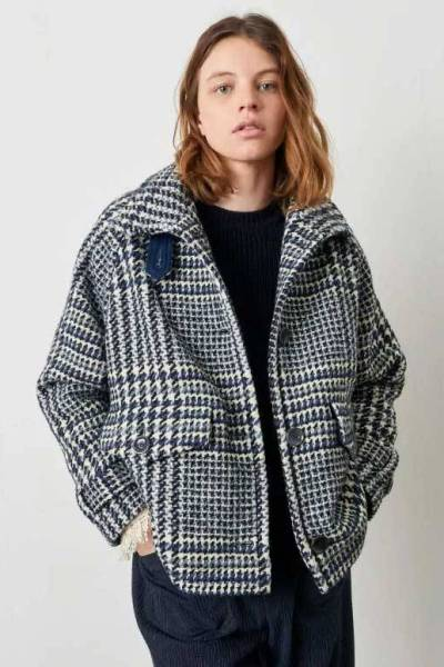 Lee valley coats denim blue Sessun