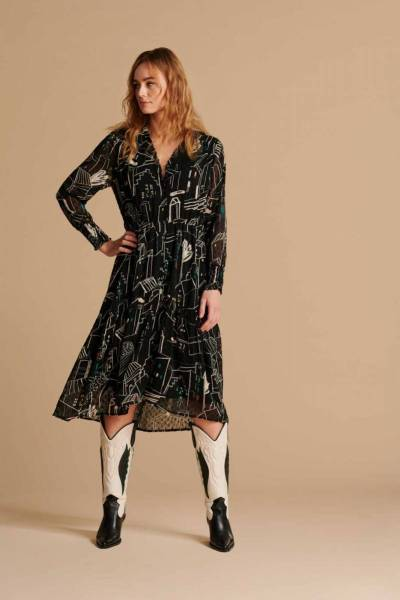 Olivia city night dress Pom Amsterdam
