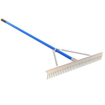 """heavy duty landscape rake - 36"""""""