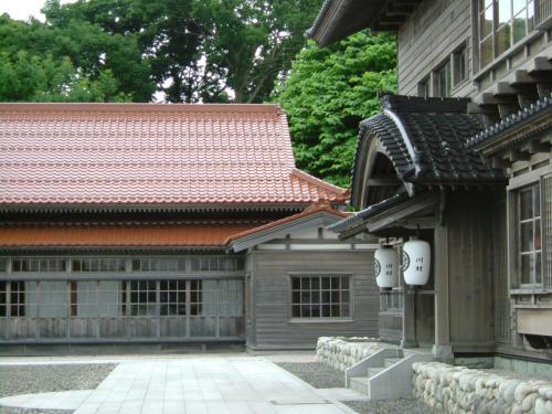 泊村ニシン御殿