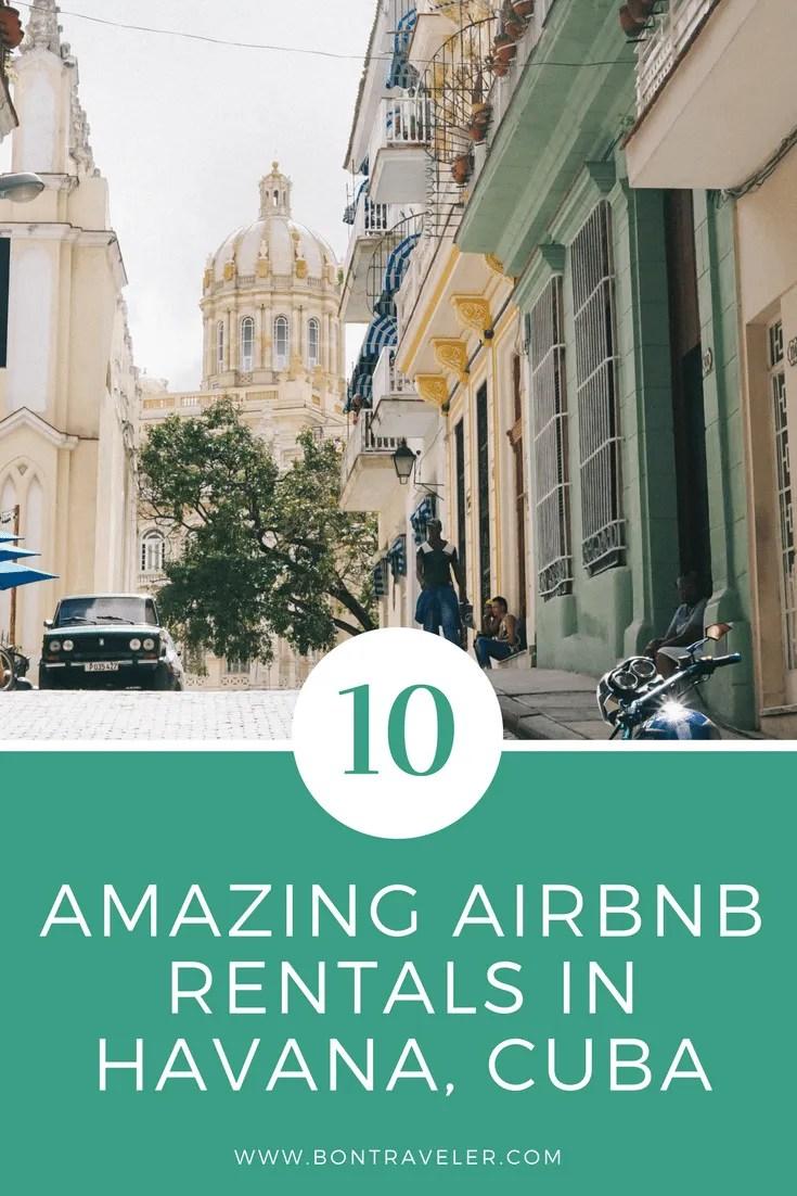 10 Amazing Airbnb Rentals In Havana, Cuba - Bon Traveler