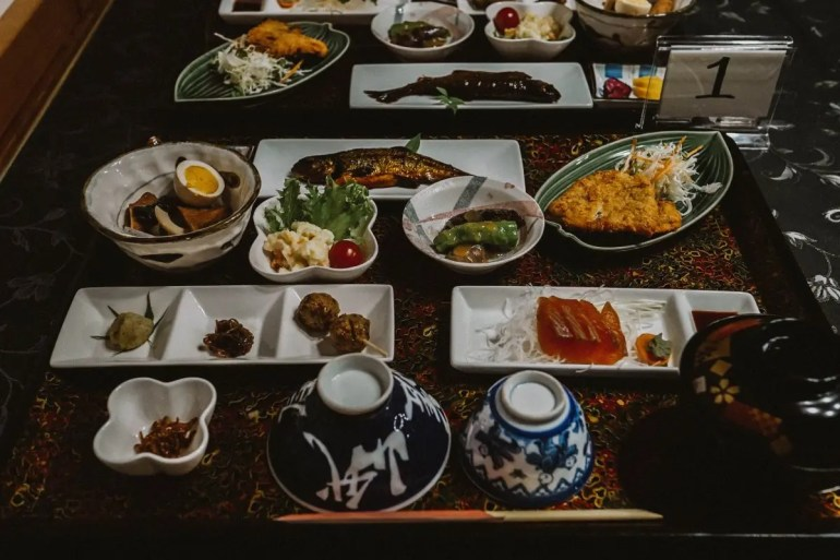 Breakfast at Shimosagaya Kiso Valley