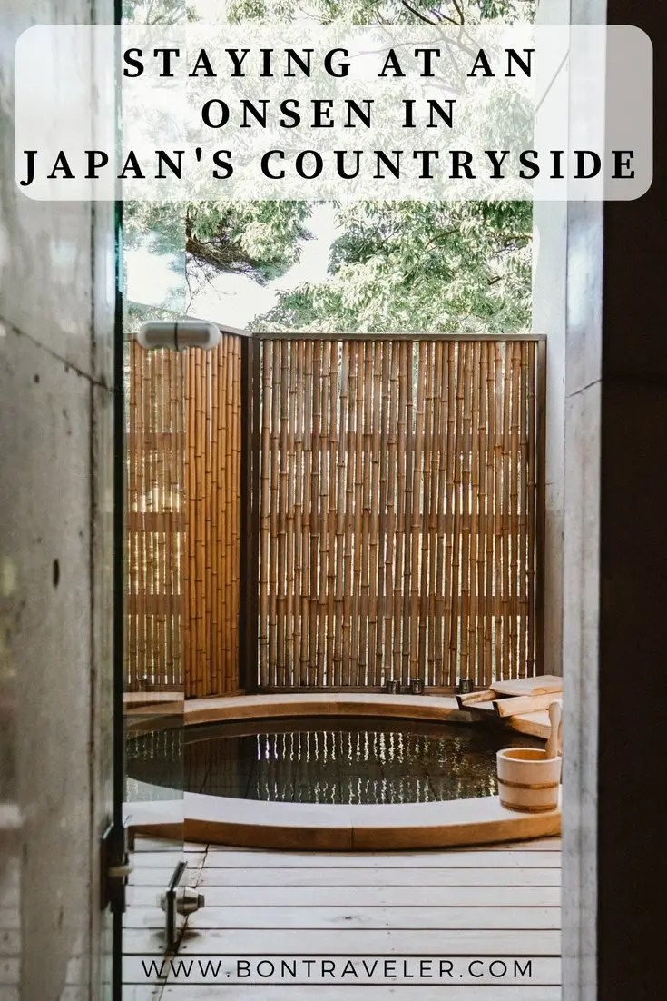 Staying at an Onsen in Japan's Countryside