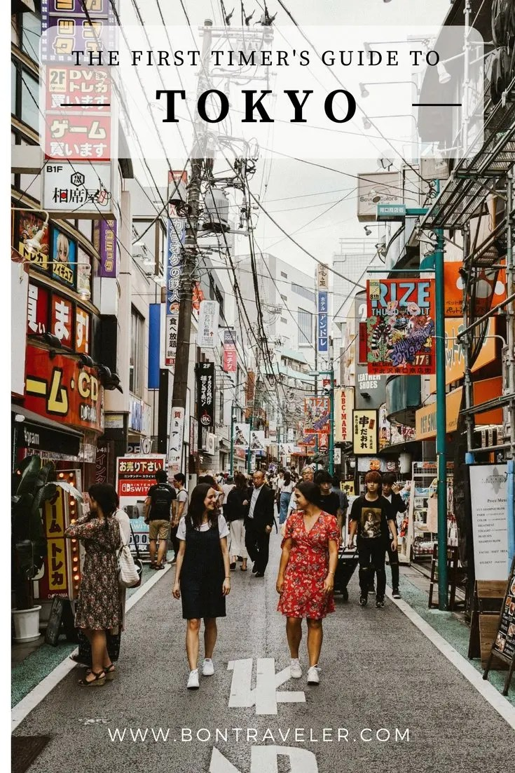 The First-Timer's Guide to Tokyo