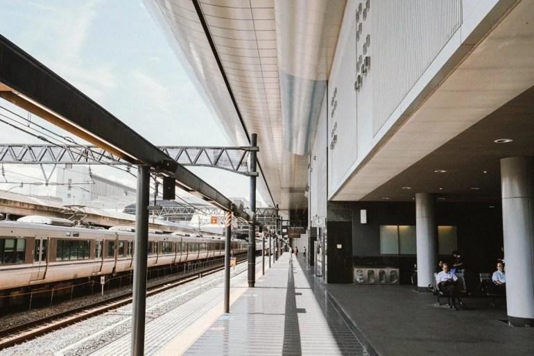 Train station kyoto