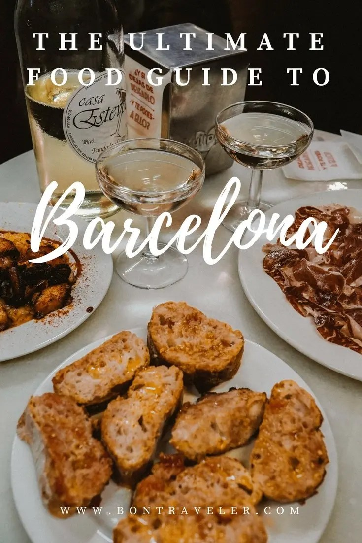 The Ultimate Food Guide to Barcelona