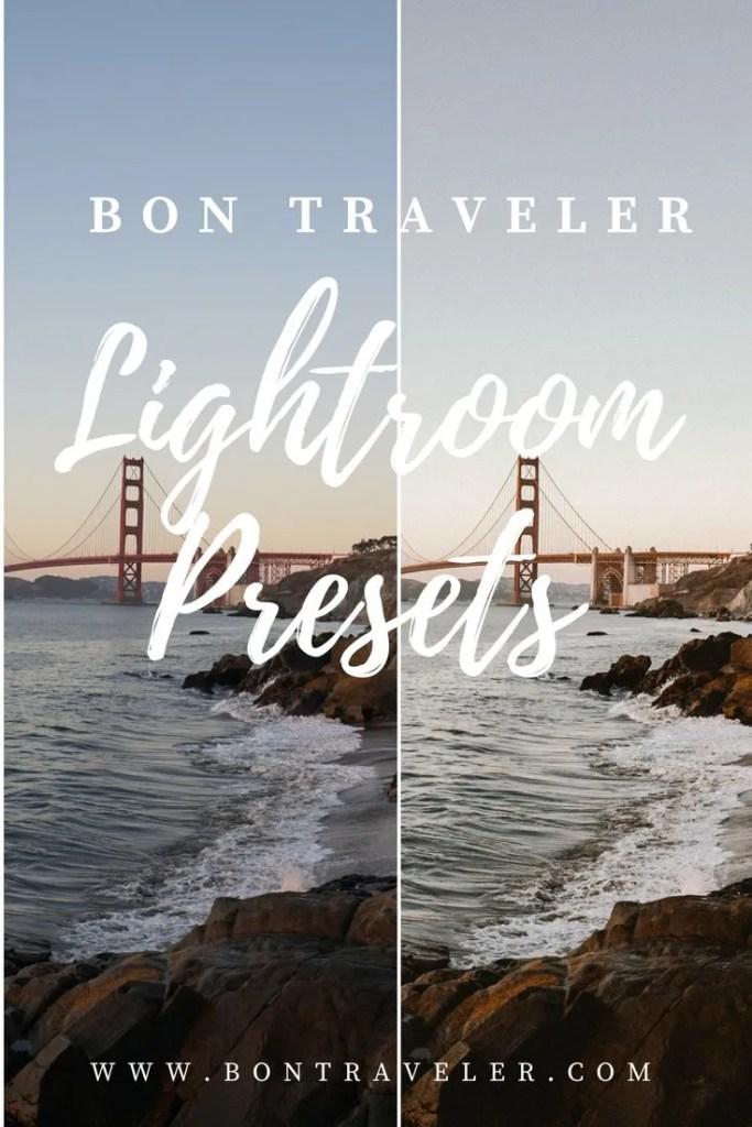 Bon Traveler Lightroom Presets Launch
