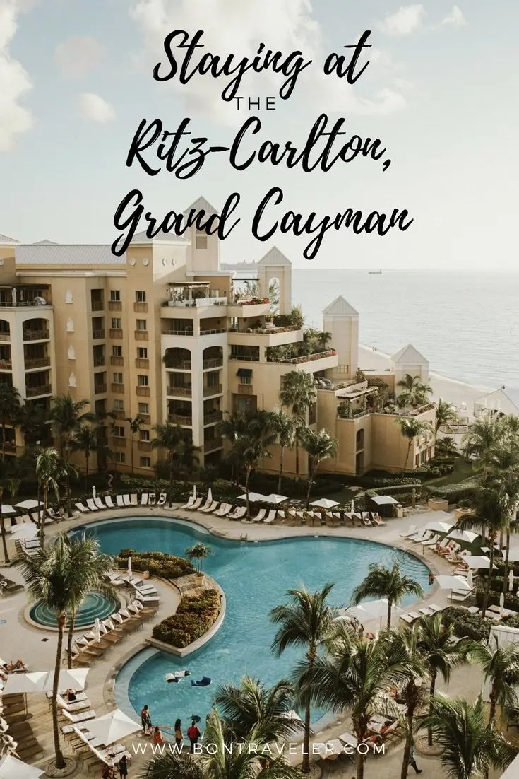 Staying at The Ritz-Carlton, Grand Cayman in the Cayman Islands