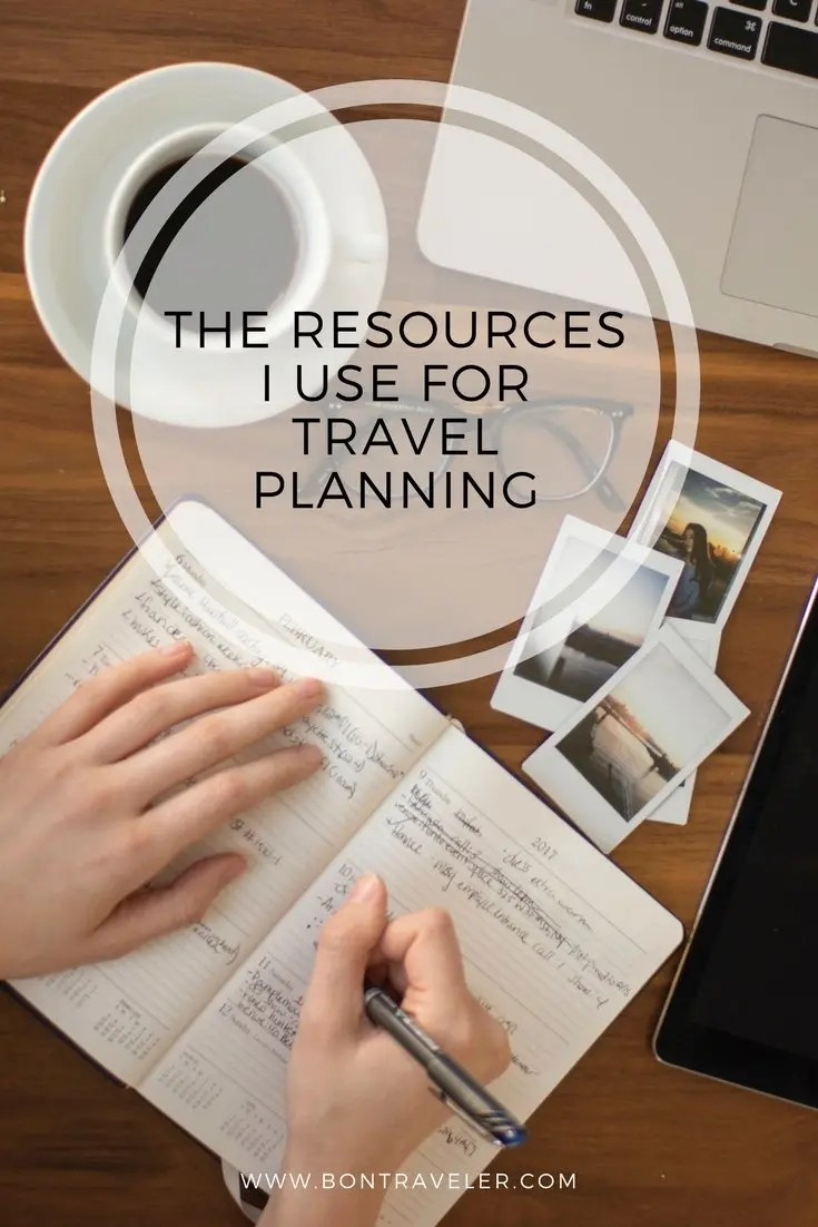 The Resources I Use For Travel Planning