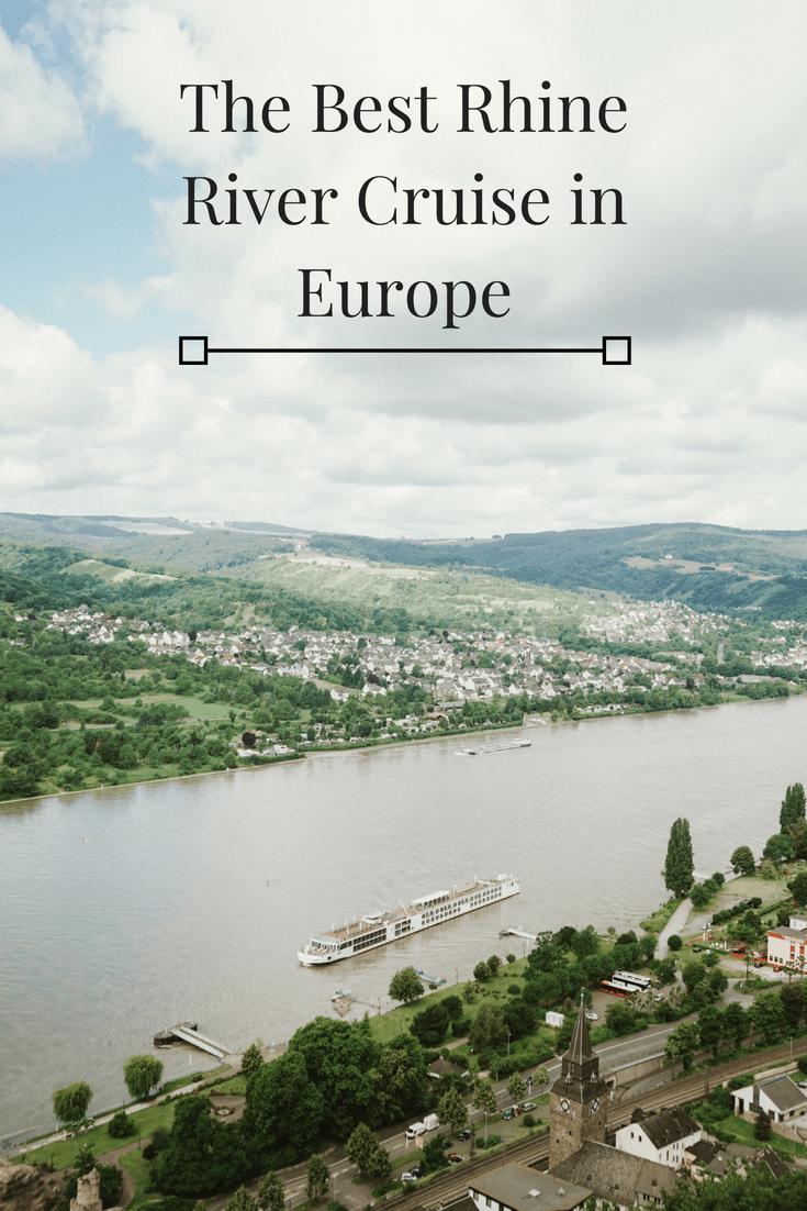 The Best Rhine River Cruise in Europe