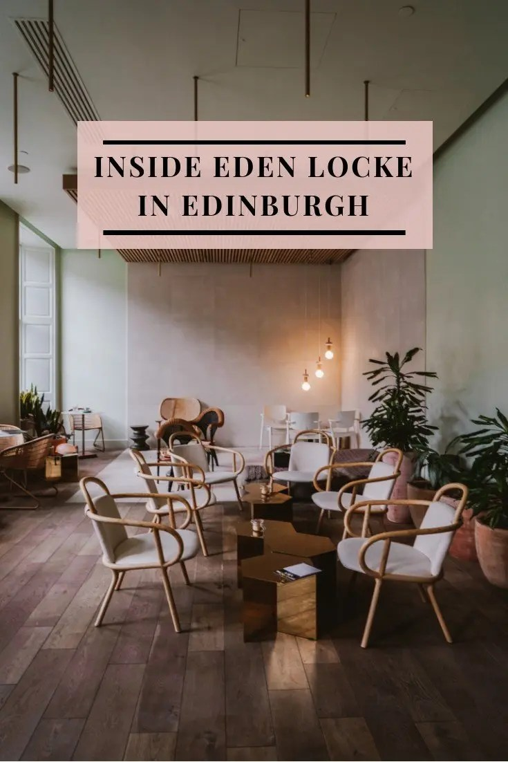 Locke Hotels launched the beloved Eden Locke in Edinburgh, they nailed one thing perfectly. A beautiful space that is not only generous to the eyes but equally functional. Their cotton candy color scheme matched with textures like cement and clay pots blends seamlessly together. This one part apartment and hotel boast only suite-rooms right in the heart of the New Town. Their address on George Street is the ultimate place to call home and when designers Grzywinski + Pons renovated this Georgian Mansion, it was nothing less than perfection. Each of the 72 studio rooms has been carefully appointed with the standard amenities of an apartment. Kitchens with pops of color are designed so that you can cook your own meals and create cocktails right in your own room. Their signature touch of L-shaped sofas makes for the perfect pair in the rooms' living space, where you can lounge or get some work done. Some of the rooms have a city view so if you're a guest who loves a look into the city, be sure to request one. Downstairs in the mezzanine at Eden Locke is their coffee bar that transforms into a wine and cocktail bar at night. Locals pour in during the day to work remotely and at night it becomes a buzzing social scene. The space is filled with a mix of different seating options that all work well together. Their vision of this older building has been transformed into one of the most beautiful spaces in Edinburgh. For booking Eden Locke Edinburgh, head here to check availability for a room. Locke Hotels have other hotels in cities like London and Manchester. Beautiful Spaces: Inside Eden Locke in Edinburgh