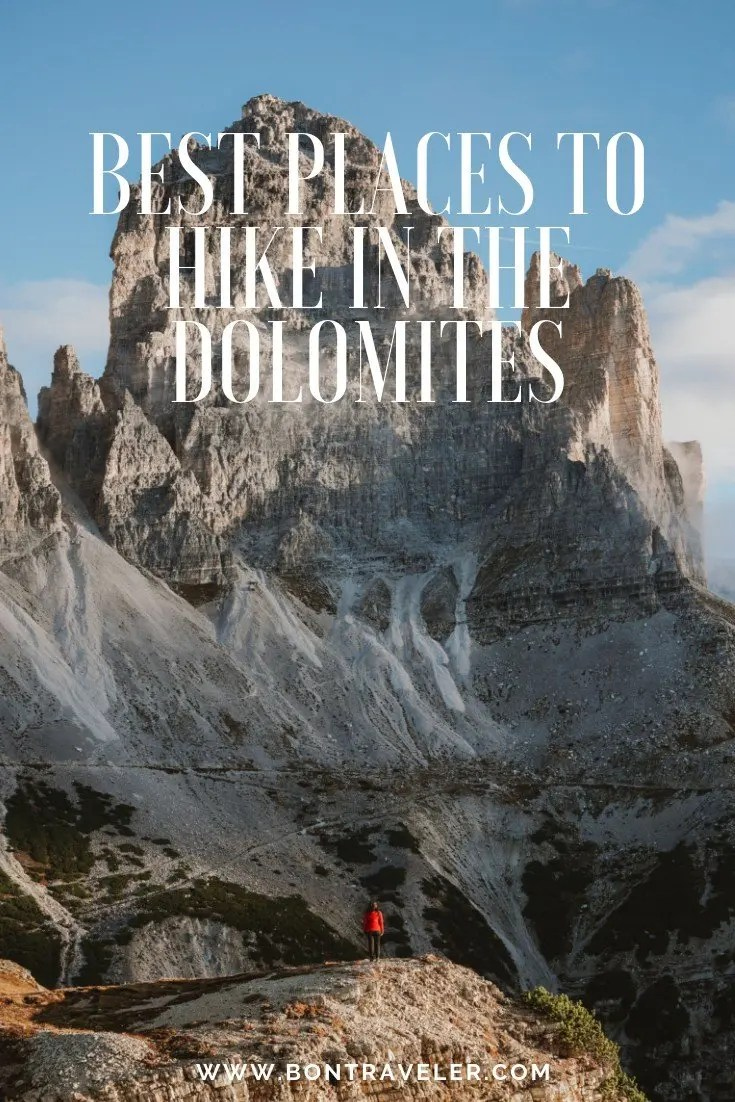 Best Places to Hike in the Dolomites