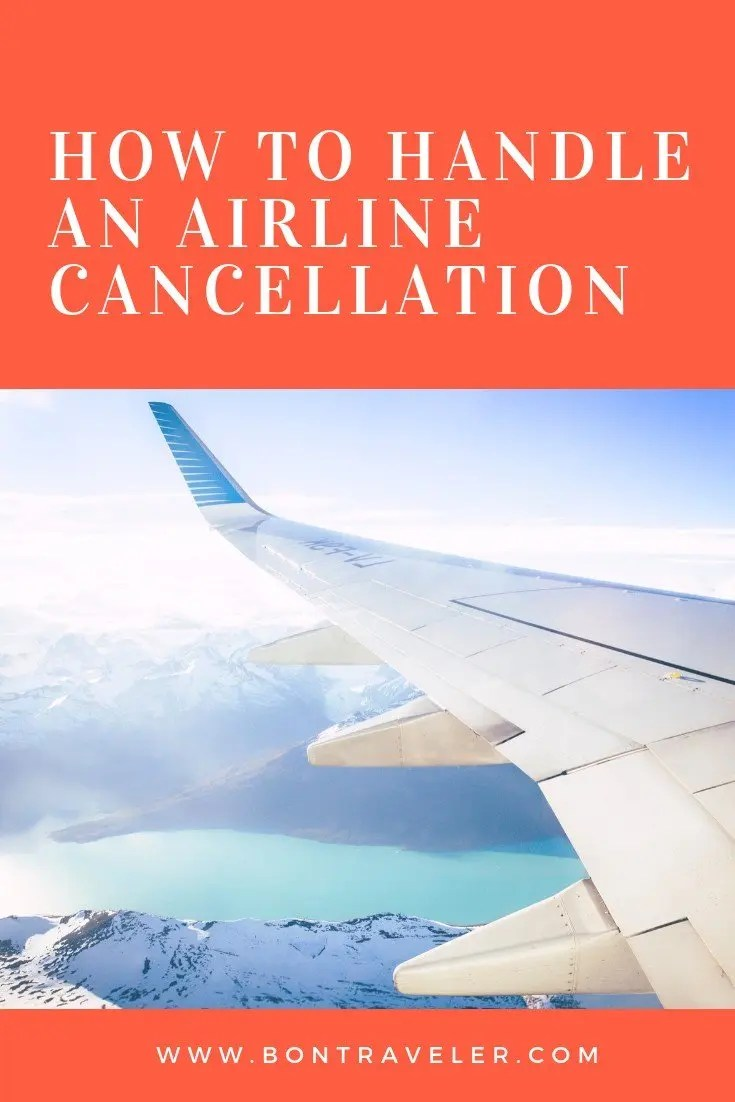 How to Handle an Airline Cancellation