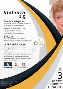 27-11-2018 Giustizia di Genere - Sala del Capitolo Napoli LOCANDINA