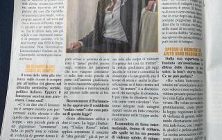 La dott.ssa Bo intervistata in onore di bon't worry su rivista MIO, articolo del 5 Settembre 2019.