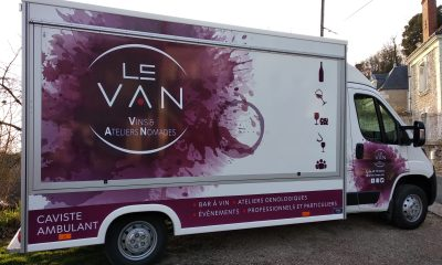 winetruck en Touraine