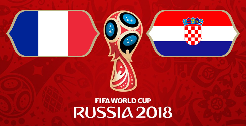 Finale France Croatie coupe du Monde 2018