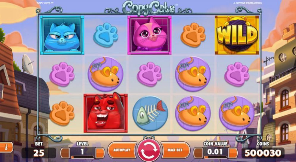 Copy Cats de Netent dans les casinos de France-min