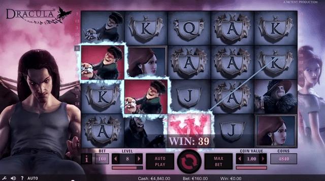 Dracula de Netent dans les casinos de France-min