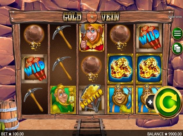 La machine a sous Gold Vein de Booming Games dans les casinos de France