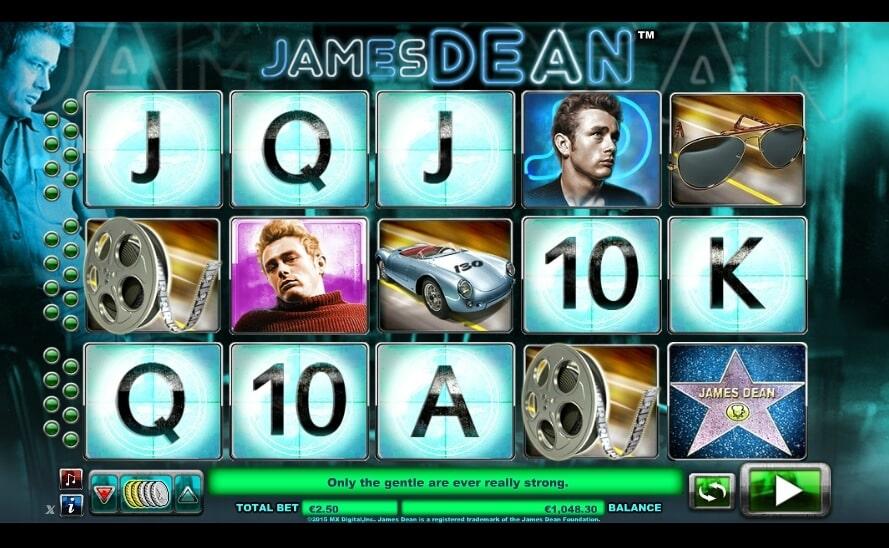 La machine a sous James Dean de Nextgen-min (1)