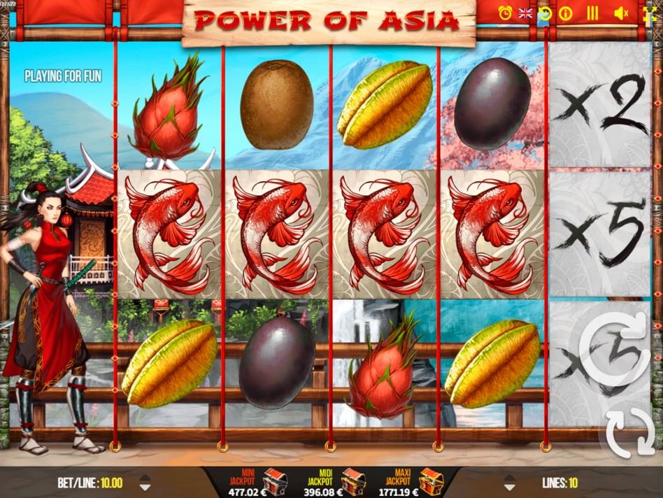 La machine a sous Power of Asie de Fugaso dans les casinos en ligne de France.-min