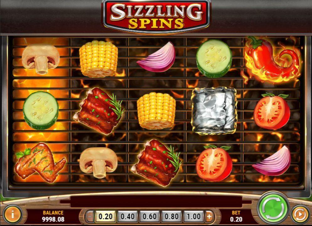 La machine a sous Sizzling Spins de Play'n GO-min