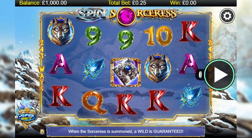 La machine a sous Spin Sorceress de Nextgen dans les casinos en ligne de France.-min
