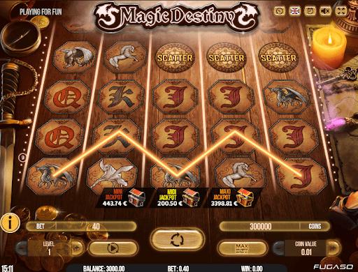 Magic Destiny de Fugaso dans les casinos en ligne de France-min