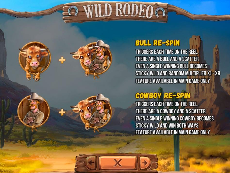 Wild Rodeo de Fugaso dans les casinos en ligne de France-min