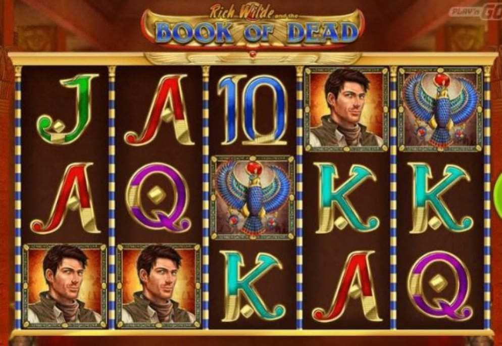 La machine a sous Book of Dead de Play 'N Go dans les casinos en ligne de France