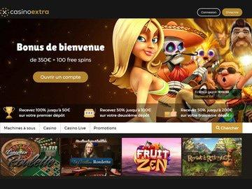 casino extra avis vip code bonus