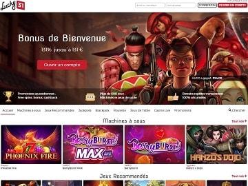 casino lucky31 avis code bonus vip