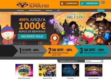 casino superlines avis code bonus vip
